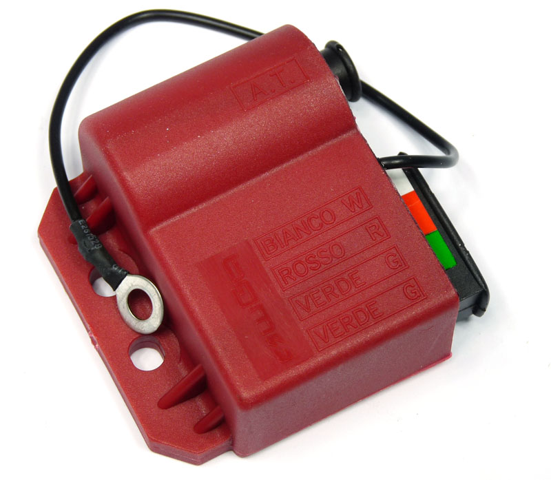 Lambretta Electronic ignition coil (CDI) Red, bgm